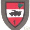 AUSTRIA Army (Bundesheer) - 1st Infantry Brigade (1. Jägerbrigade) patch, dress uniform