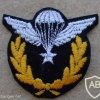 Iran Basic Jumpmaster paratrooper wings, work dress, post Shah period img12581