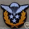 Iran Master Jumpmaster paratrooper wings, work dress, post Shah period