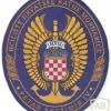 CROATIA Naval Academy sleeve patch