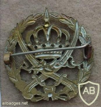 Jordan Army cap badge img13139