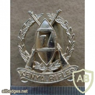 7th Kenya Rifles cap badge img13206
