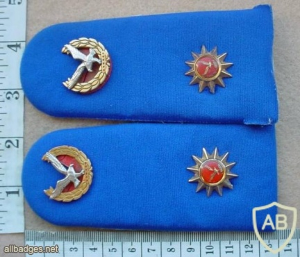 Namibian Police Force Chief Inspector rank epaulettes img13665