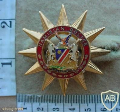 Namibian Police Force cap badge img13767