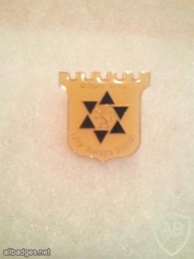 סמל של עריית ירושלים למתנדב בקליטת עלייה img13913