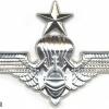 MALAYSIA Fire Department Parachute jump wings, Senior