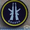 Polish Gdansk Defence Unit arm patch