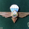 ROMANIA (Socialist Republic of) Air Force Parachutist wings, 1st Class, 1965-1977