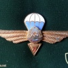 ROMANIA (Socialist Republic of) Air Force Parachutist wings, 2nd Class, 1965-1977