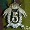 5 Regiment Lancers cap badge, old