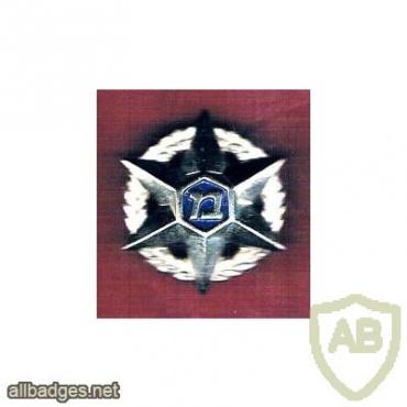 סמל כובע דור ישן משטרת ישראל img17651