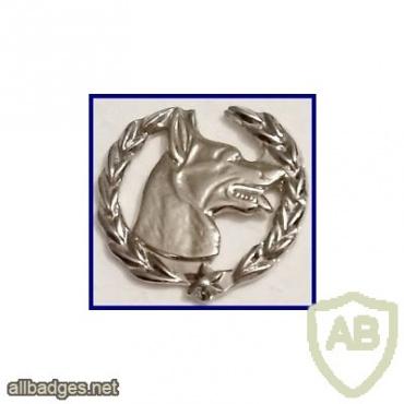 Police canine unit badge img17554