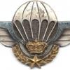 MOROCCO Parachutist wings, 3rd series