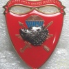 "Macedonia Army Special Forces Battalion ""Wolves"" beret badge"