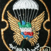 Iran 55th Airborne Brigade patch