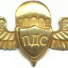 UKRAINE Parachute Assault Service (PDS) badge, gold