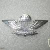 Singapore Novice Parachutist (1994-1999), metal