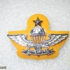 Singapore Senior Instructor Parachutist (1976-)(yellow backing from 1980 onward)
