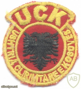Kosovo Liberation Army beret cap badge img23172