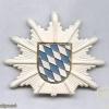Bavaria state police cap badge, old