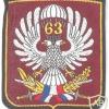 YUGOSLAVIA 63rd Airborne Brigade parachutist sleeve patch img23499