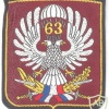SERBIA 63rd Parachute Battalion parachutist sleeve patch, silk