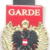 "AUSTRIA Army (Bundesheer) - Vienna Honor Guard ""GARDE"" pocket badge"