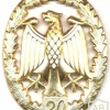 GERMANY Bundeswehr - Military Proficiency Badge - Class III Gold - 20 years img24744
