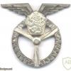 CZECHOSLOVAKIA Air Force Mechanic qualification wings badge, Class III, obsolete