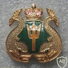 Ships Diver and Shallow Water Diver badge, metal img24866
