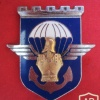 FRANCE 17th Parachute Engineer Regiment pocket badge, type 2