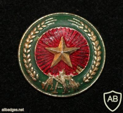 Vietnamese Military Police hat badge img25524