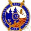 FRANCE 154th Infantry Fortress Regiment pocket badge