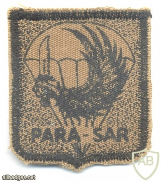 BRAZIL Air Force Airborne Rescue Squadron (Para-SAR) patch, brown img25744
