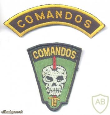 BRAZIL Army Commando patch img25748