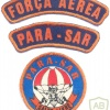 BRAZIL Air Force Para-SAR Freefall parachute patch and tabs img25743