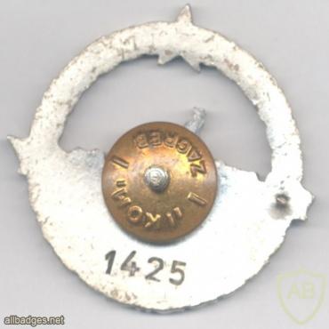 YUGOSLAVIA Navy Officer breast badge, serial #, pre-1992 img25900