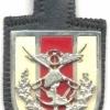 TURKEY Turkish Armed Forces General Staff pocket badge