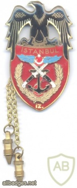 TURKEY Turkish Army Military Police (Inzibat) pocket badge, fullsize img25995