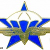 French 1st Parachute Huntsmen Regiment badge, type 2