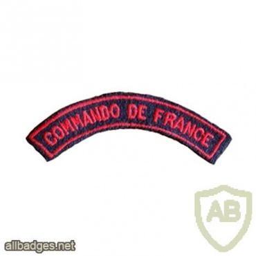 3e Bataillon de choc (Commandos de France), shoulder title img26203