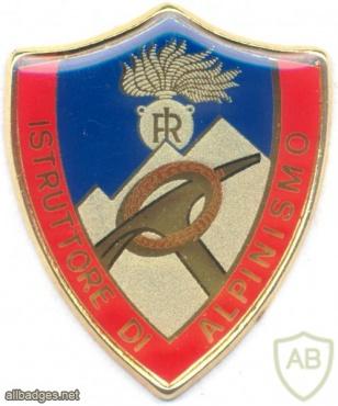 ITALY Carabinieri Alpine Instructor pocket badge img26285