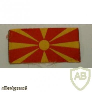 Macedonia National flag patch 1 img26636