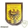 Germany Baden-Württemberg Police Office Esslingen pocket badge