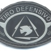 BRAZIL Military Police Low-lethal defensive shooting qualification badge, rubber img26756