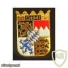 Germany Bavarian State Police - State Ministry police pocket badge