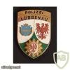 Germany Brandenburg State Police - police station Lübbenau pocket badge