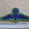 Thailand Army Senior paratrooper wings, subdued, combat dress