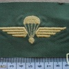 Swiss Air Force Parachutist Reconnaissance Qualification Wings, work dress