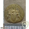 Rhodesian Railways cap badge trial striking